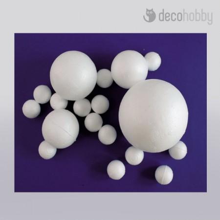 Polisztirol hungarocell gomb - Decohobby