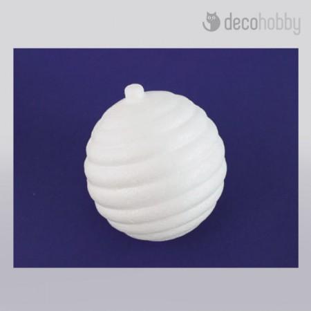 Polisztirol hungarocell keresztcsikos gomb - Decohobby
