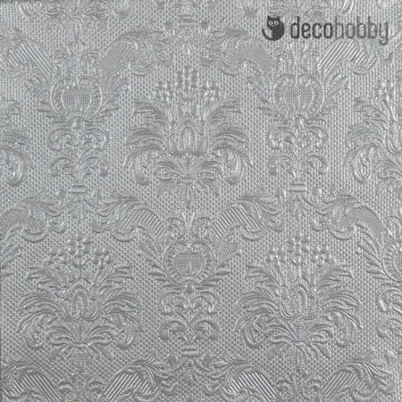 Mintas szalveta - Elegance Silver - Decohobby