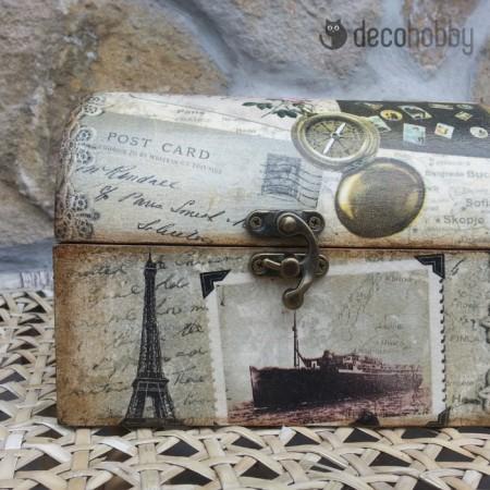 Ekszeres doboz - bon voyage - parizs 01 - Decohobby