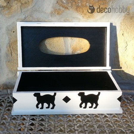Papirzsebkendo tarto - Black Cat 02 - Decohobby