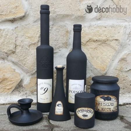Halloween dekoracio - fekete 01 - Decohobby
