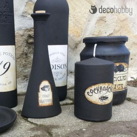 Halloween dekoracio - fekete 02 - Decohobby