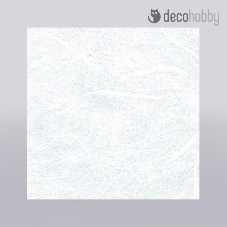 Egyszinu rizspapir - feher 70x100cm - Stamperia DFTVG001 - Decohobby