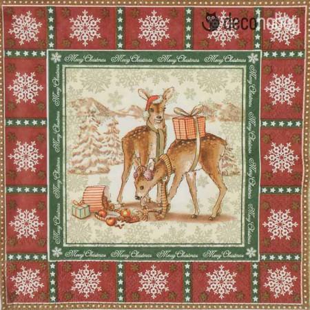 karacsonyi-szalveta-deer-boy-red-decohobby
