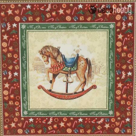 karacsonyi-szalveta-rocking-horse-red-decohobby
