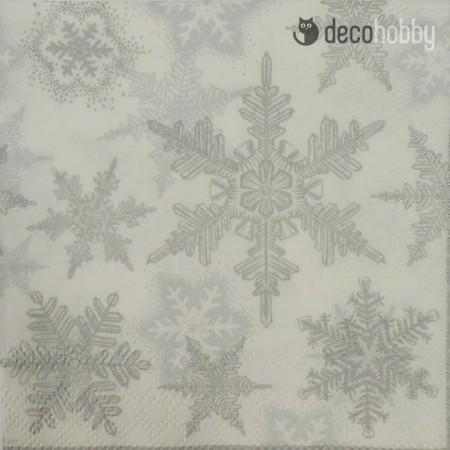 koktelszalveta-25x25cm-snow-crystals-silver-decohobby