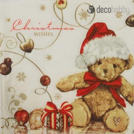 koktelszalveta-25x25cm-x-mas-teddy-decohobby