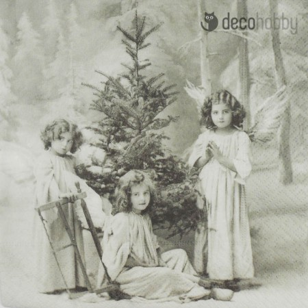 sagen-vintage-szalveta-christmas-angels-decohobby