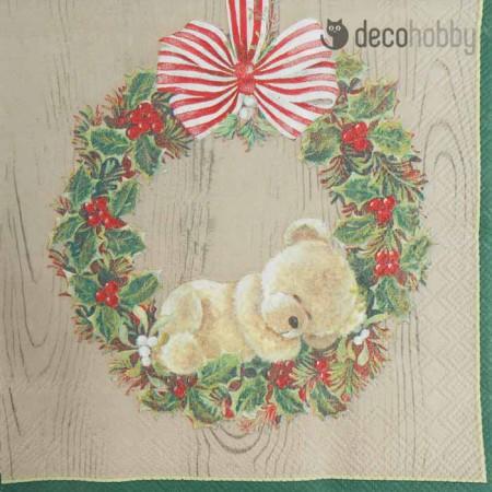 karacsonyi-szalveta-little-weary-bear-decohobby