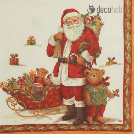 karacsonyi-szalveta-santa-and-teddy-decohobby