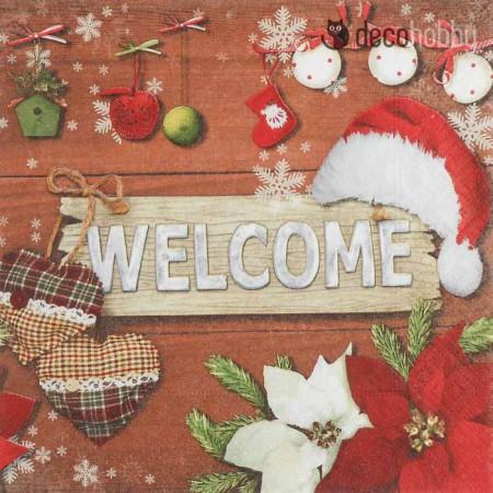 karacsonyi-szalveta-welcome-christmas-decohobby
