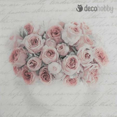 sagen-vintage-szalveta-pink-rose-in-vase-decohobby