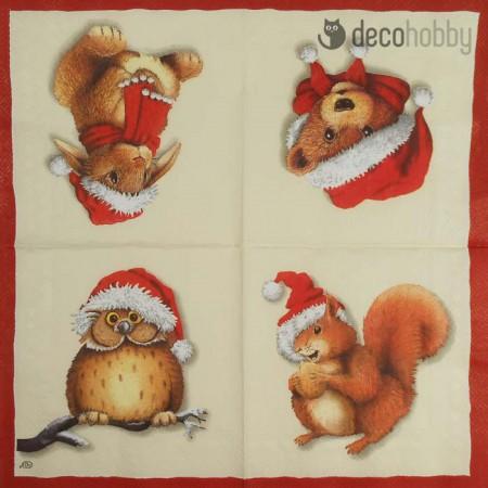 karacsonyi-szalveta-bobble-hats-decohobby